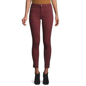 NWT Joe's Skinny Ankle Jeans Cranberry Size 25